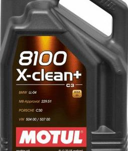 MOTUL 8100 X-clean+, pakiranje: 1L / 5L