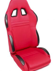Sportsko sjedalo TA Technix – crveno, alcantara, podesivo, lijevo