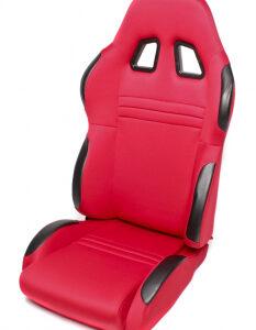 Sportsko sjedalo TA Technix – crveno, podesivo, desno