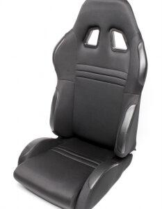 Sportsko sjedalo TA Technix – crno, podesivo, desno